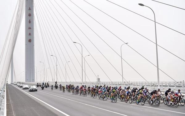2017年环崇明岛女子公路世界巡回赛第二赛段
