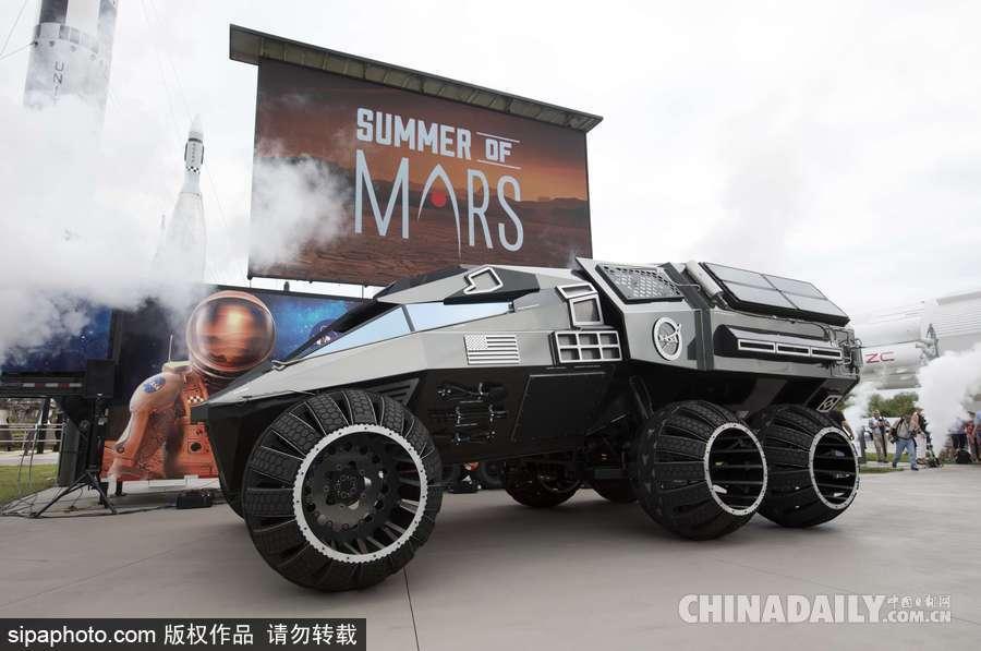 火星专用版越野车!nasa发布mars rover 概念太空车