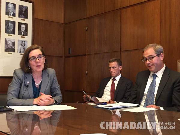 俄勒冈州通过决议 大力推进与中国的全方位合作