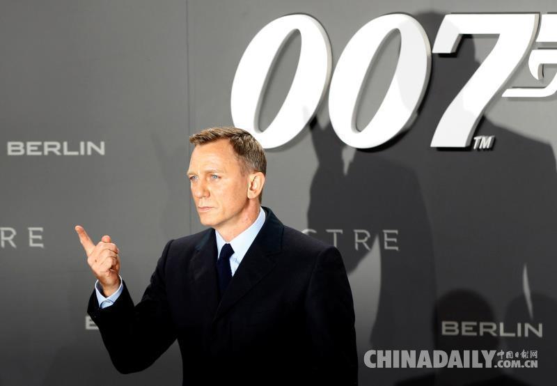 新邦德还是他!丹尼尔・克雷格确认将第五次出演007