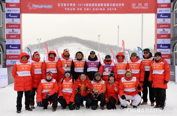 革命老区延安雪舞冬日 中国女将斩获季军